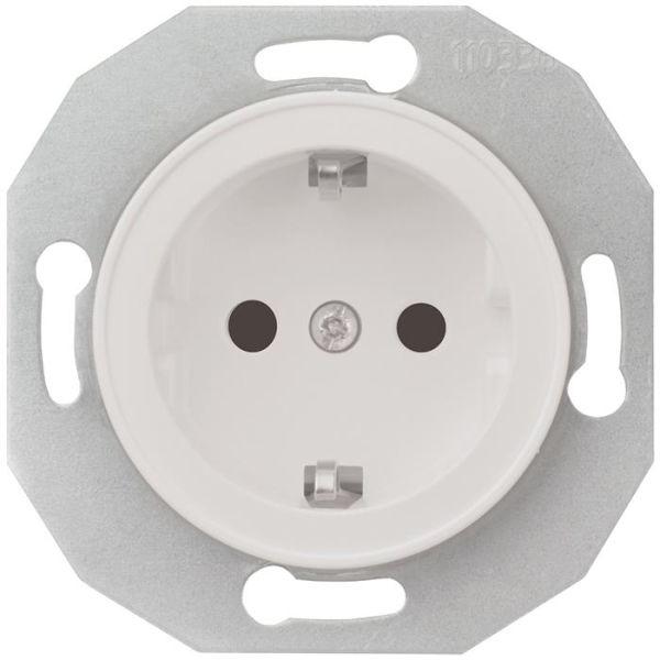 Schneider Electric Renova WDE011103 Seinäpistorasia ilman kehystä, maadoitettu, 1-osainen