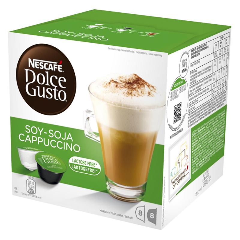 Kahvikapselit Soija Cappuccino 16 kpl - 46% alennus