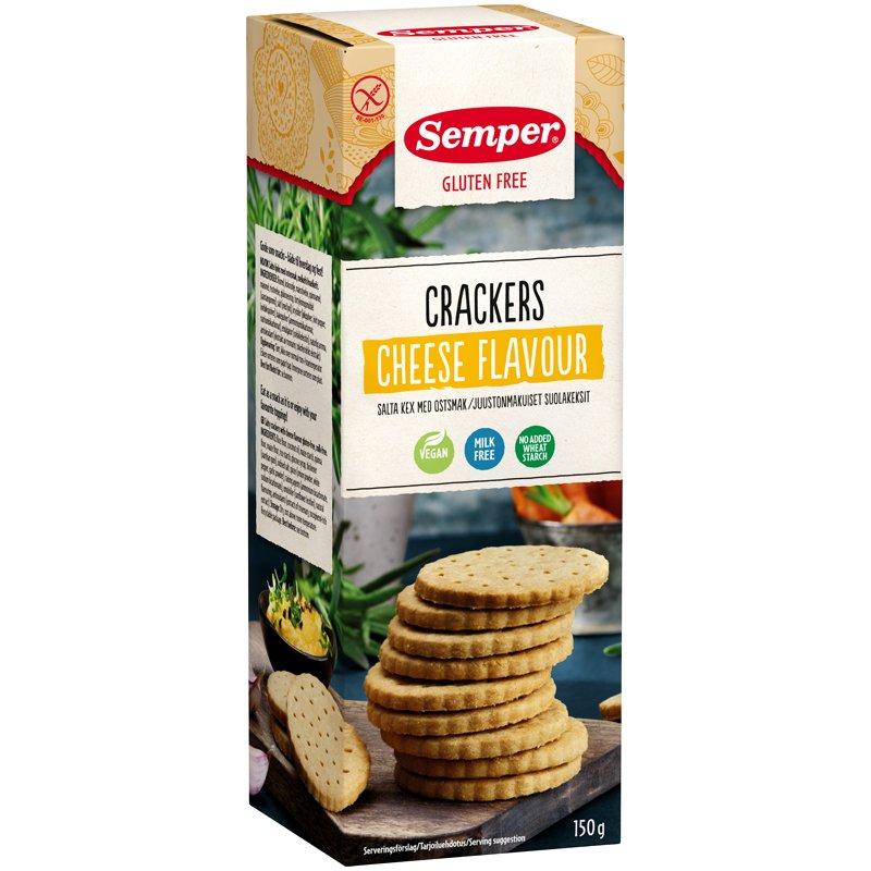 Crackers Cheese Flavour - 24% rabatt