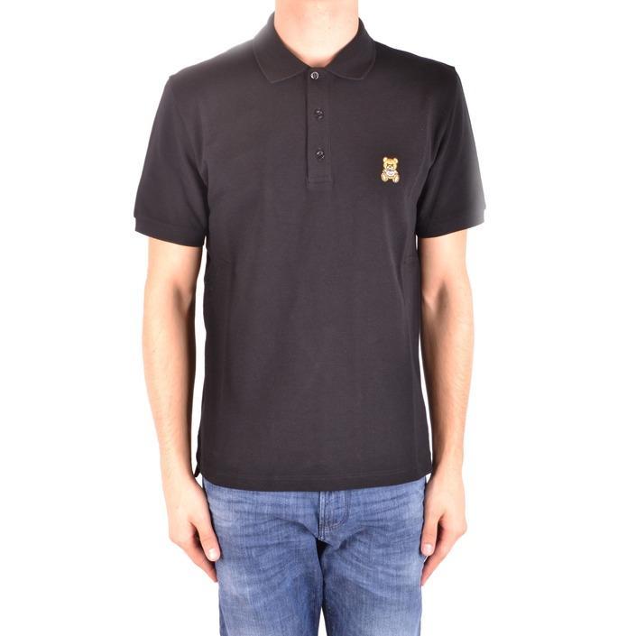 Moschino Men's Polo Shirt Black 187169 - black 52