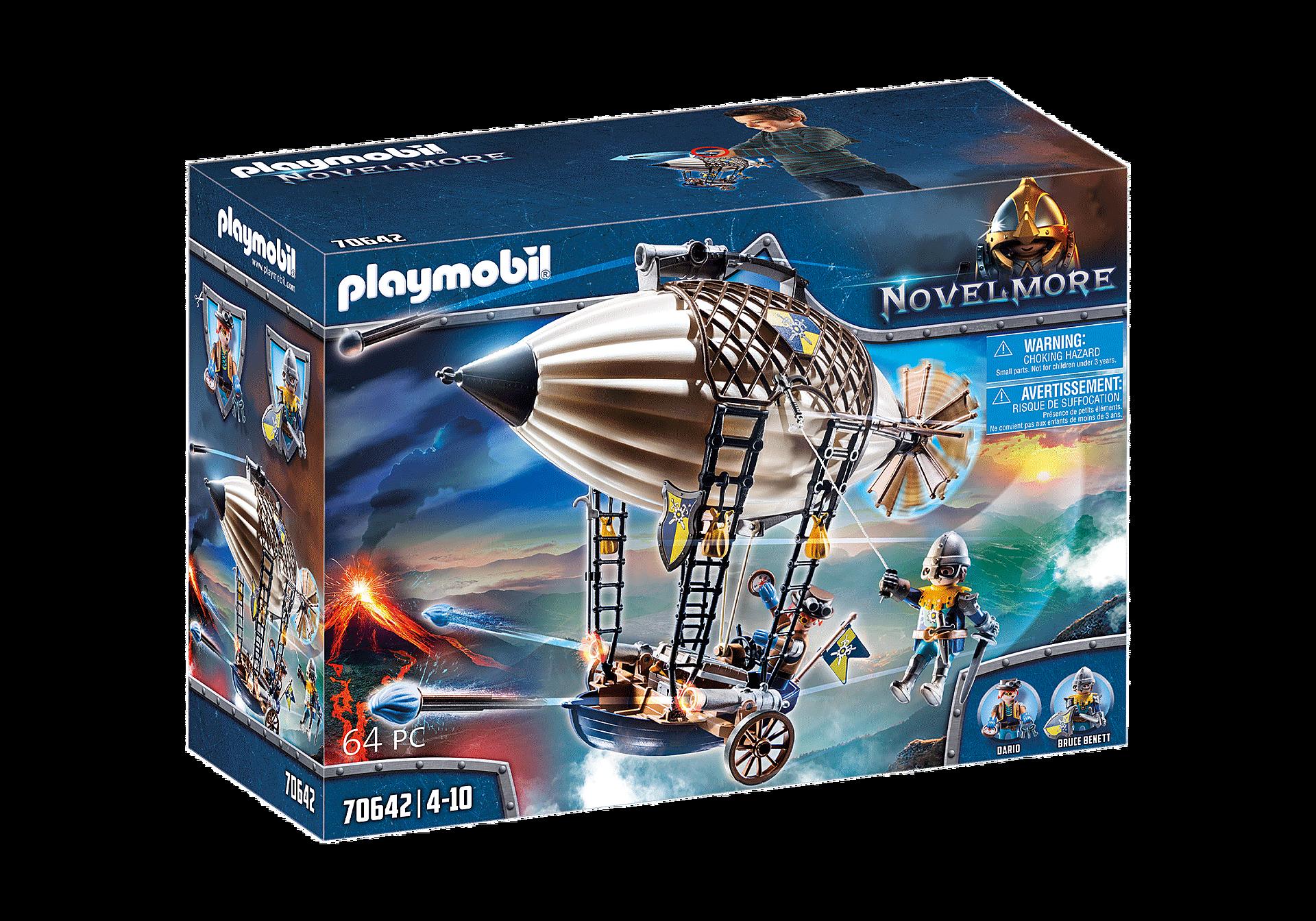 Playmobil - Novelmore - Darios zeppelin (70642)