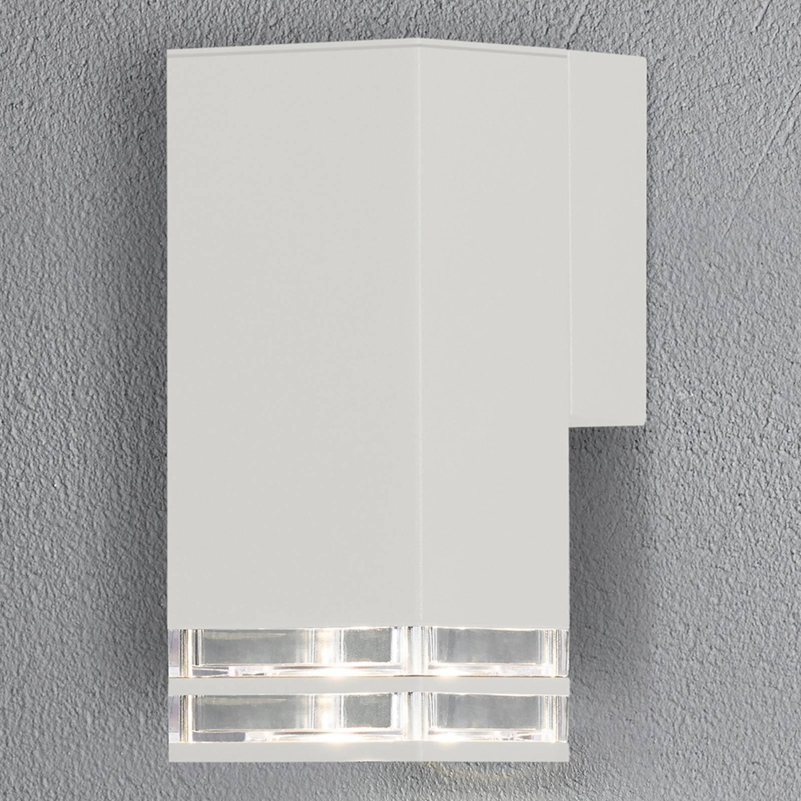 Antares utendørs vegglampe downlight 19 cm, hvit