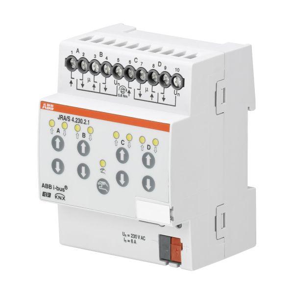 ABB 2CDG110121R0011 Verhomoottoriohjain 230 V, manuaalinen Verholähtöjen enimmäismäärä: 4