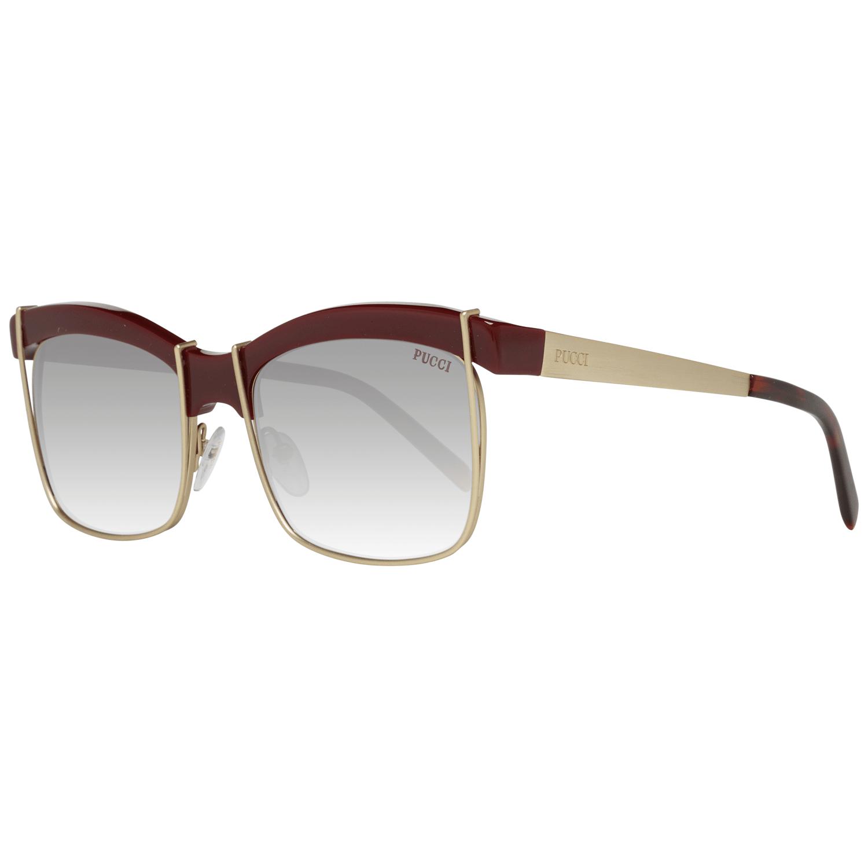 Emilio Pucci Women's Sunglasses Gold EP0058 5669T