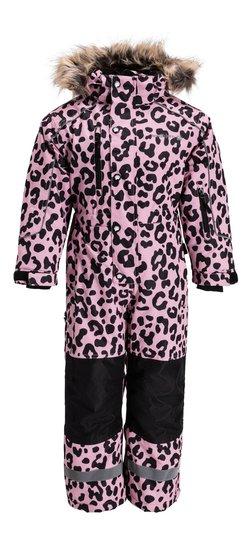 Nordbjørn Arctic Vinterdress, Pink Nectar Leopard 80