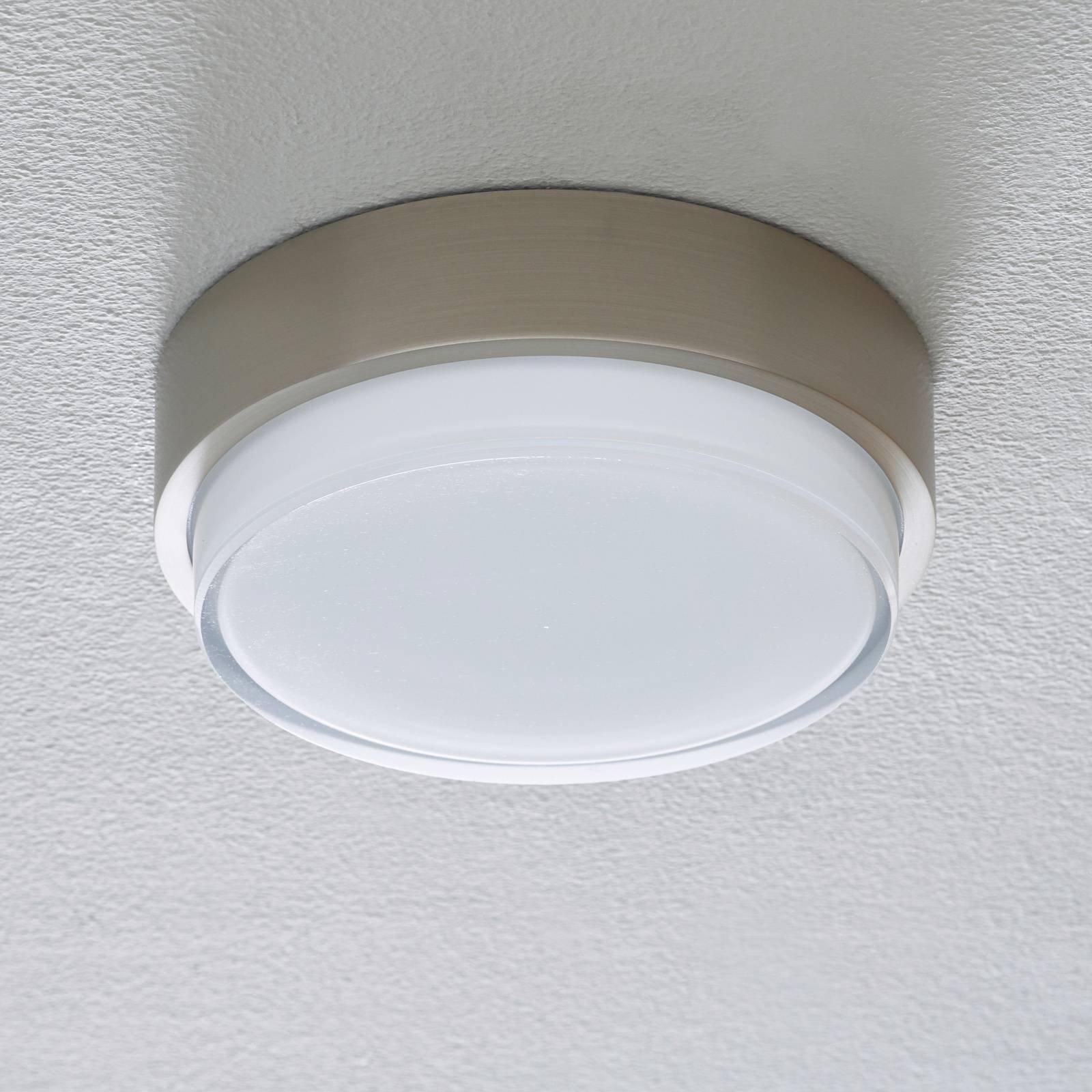 BEGA 50536 LED-taklampe 930 rustfritt stål Ø21cm