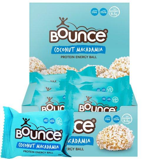 Proteinbollar Coconut Macadamia Energy 12-pack - 42% rabatt