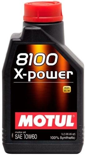 Moottoriöljy MOTUL 8100 X-POWER 10W60 1L