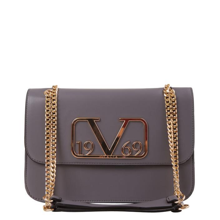 19v69 Italia Women's Handbag Various Colours 318965 - grey UNICA