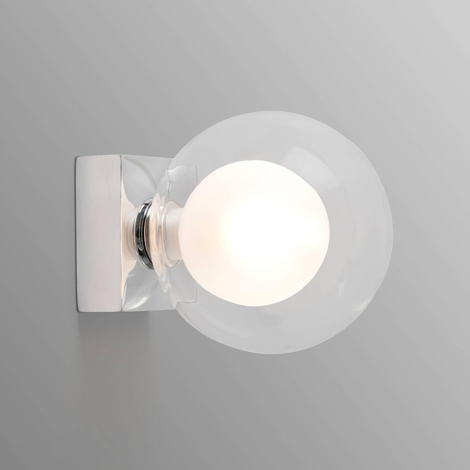 Vegglampe Perla, krom