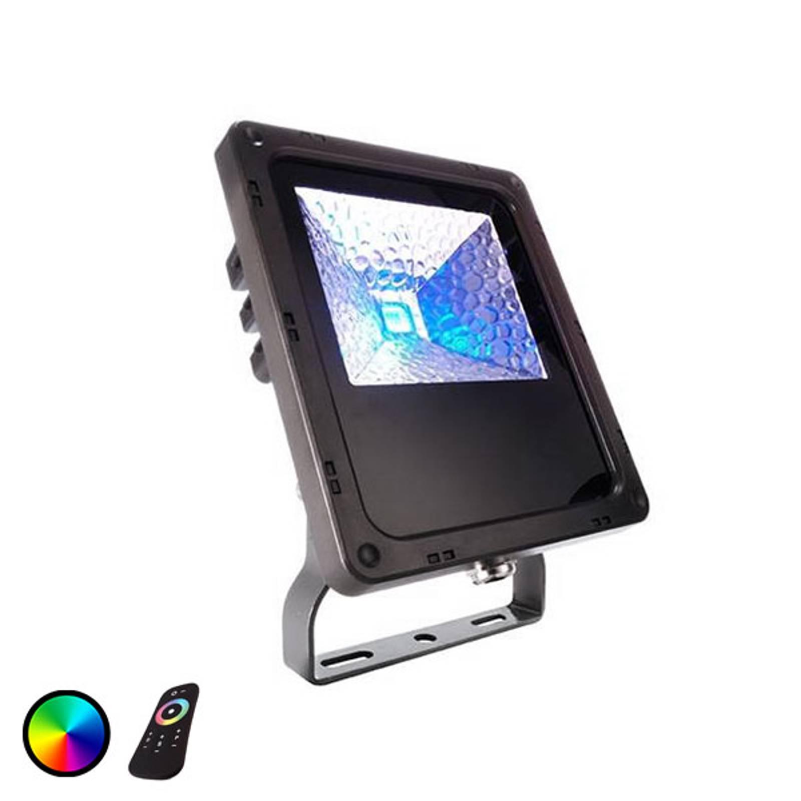 IP65 - LED-kohdevalo ulos Flood Color RF-10 - 10W