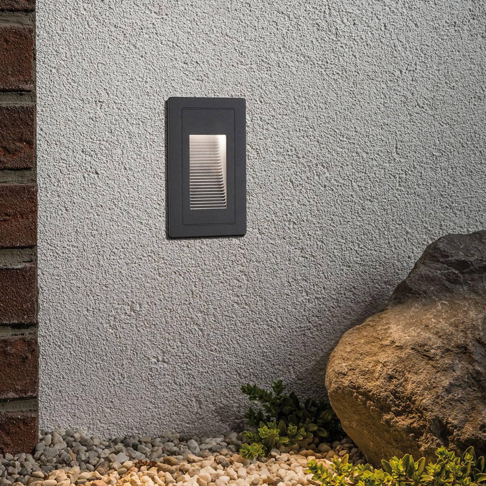 Paulmann High -LED-seinäuppovalaisin ulkokäyttöön