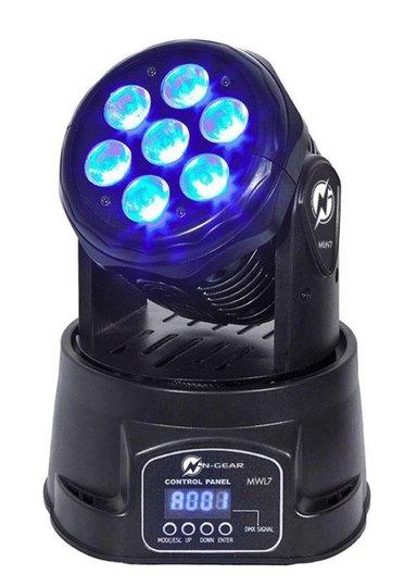 N-Gear Lampe Move Wash Light 7