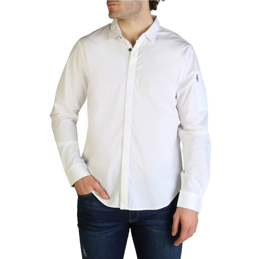 Armani Exchange Men's Shirt White 3ZZC30_ZNZJZ - white XS