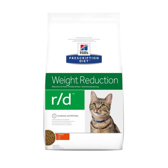 Hill's Prescription Diet Feline r/d Weight Reduction Chicken (1,5 kg)