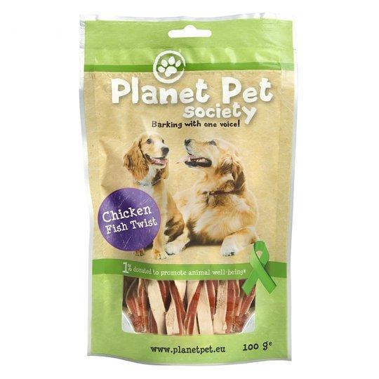 Planet Pet Dog Kyckling & Fisk Twist