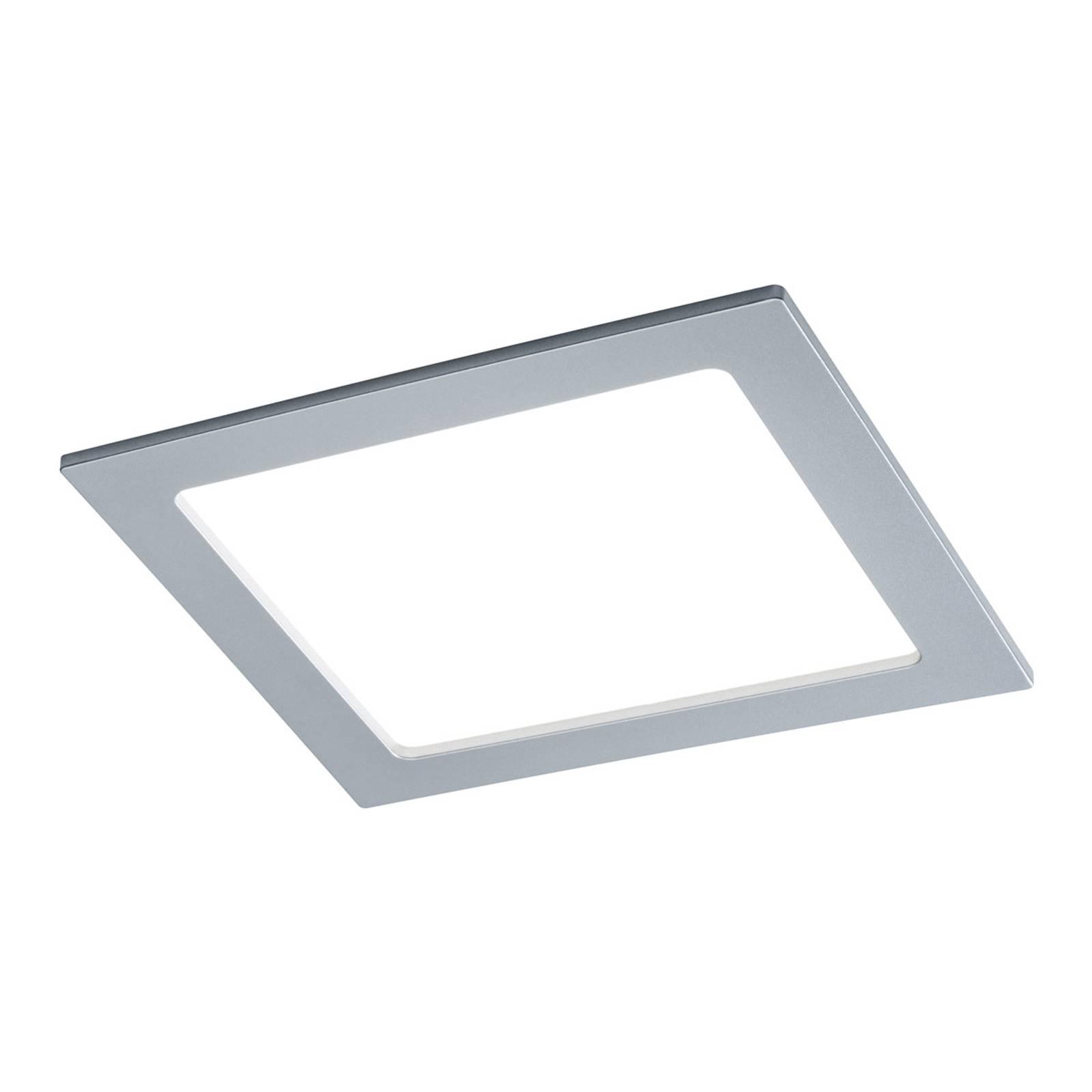 Paulmann LED-paneeli kulmikas 18 W, 4 000 K, kromi