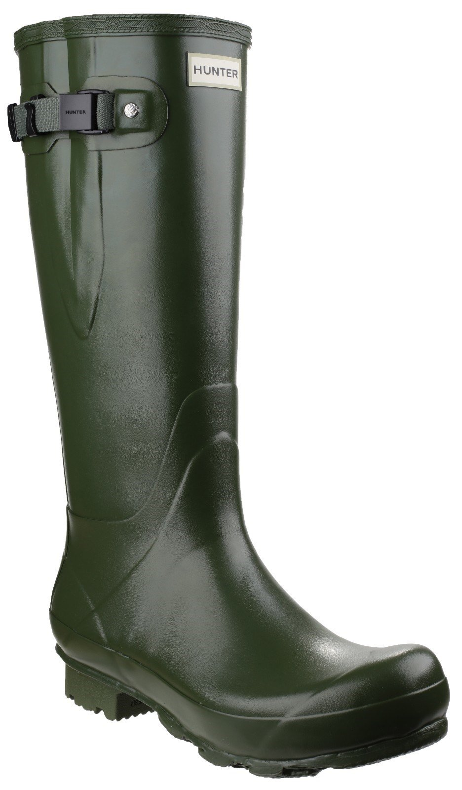 Hunter Unisex Norris Adjustable Field Boot Various Colours 23660 - Vintage Green 3