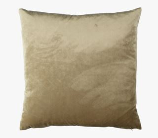 Mali velour koristetyynynpäällinen beige