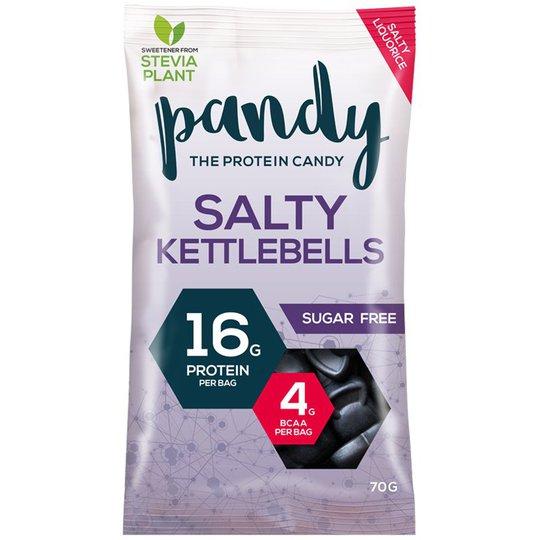 "Proteingodis ""Salty Kettlebells"" 70g - 43% rabatt"