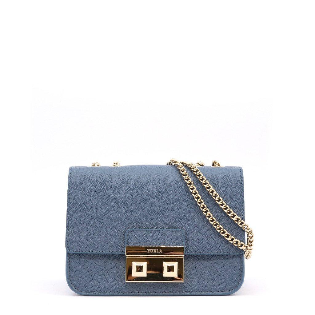 Furla Women's Shoulder Bag Various Colours BELLA_BQJ3LND - blue NOSIZE