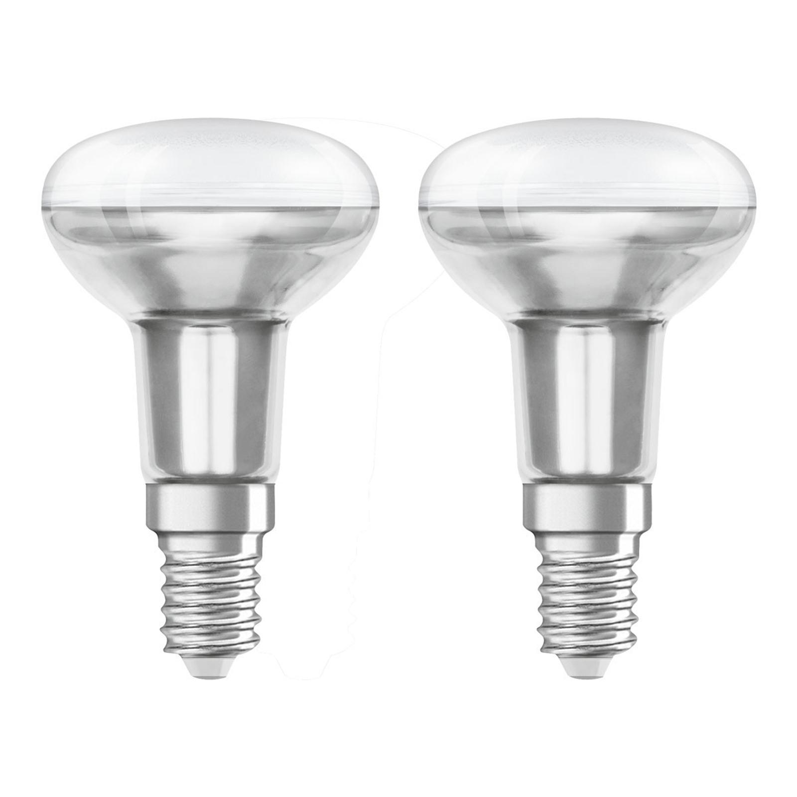 OSRAM-LED-heljastin E14 3,3W 2 700 K 36° 2 kpl