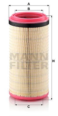 Ilmansuodatin MANN-FILTER C 28 1300
