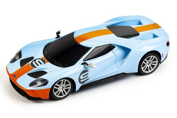 Maisto - Ford GT 1:24 Blue/Orange w. Motor Sound (144040)