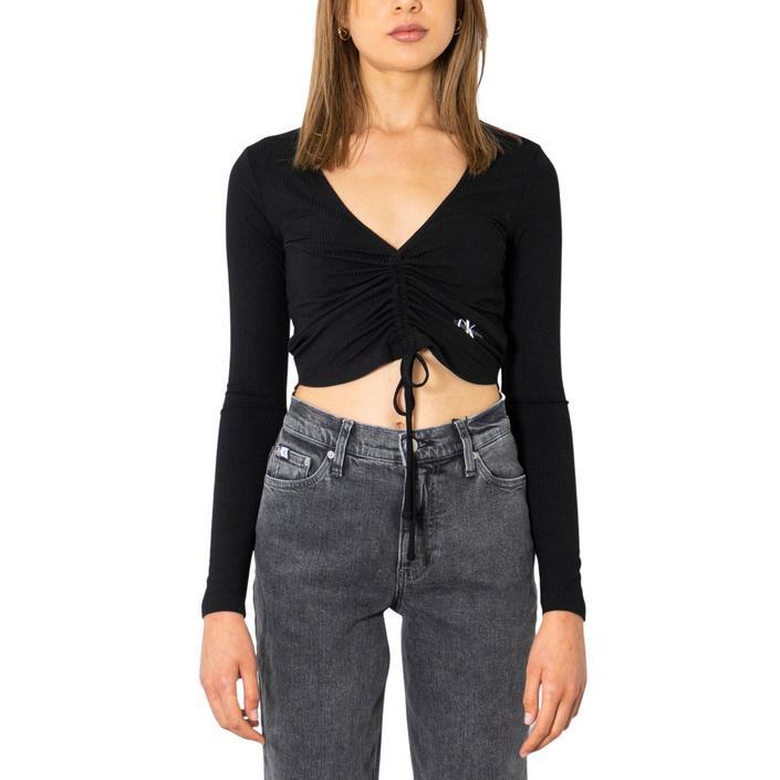 Calvin Klein Jeans Women T-Shirt Black 299930 - black S