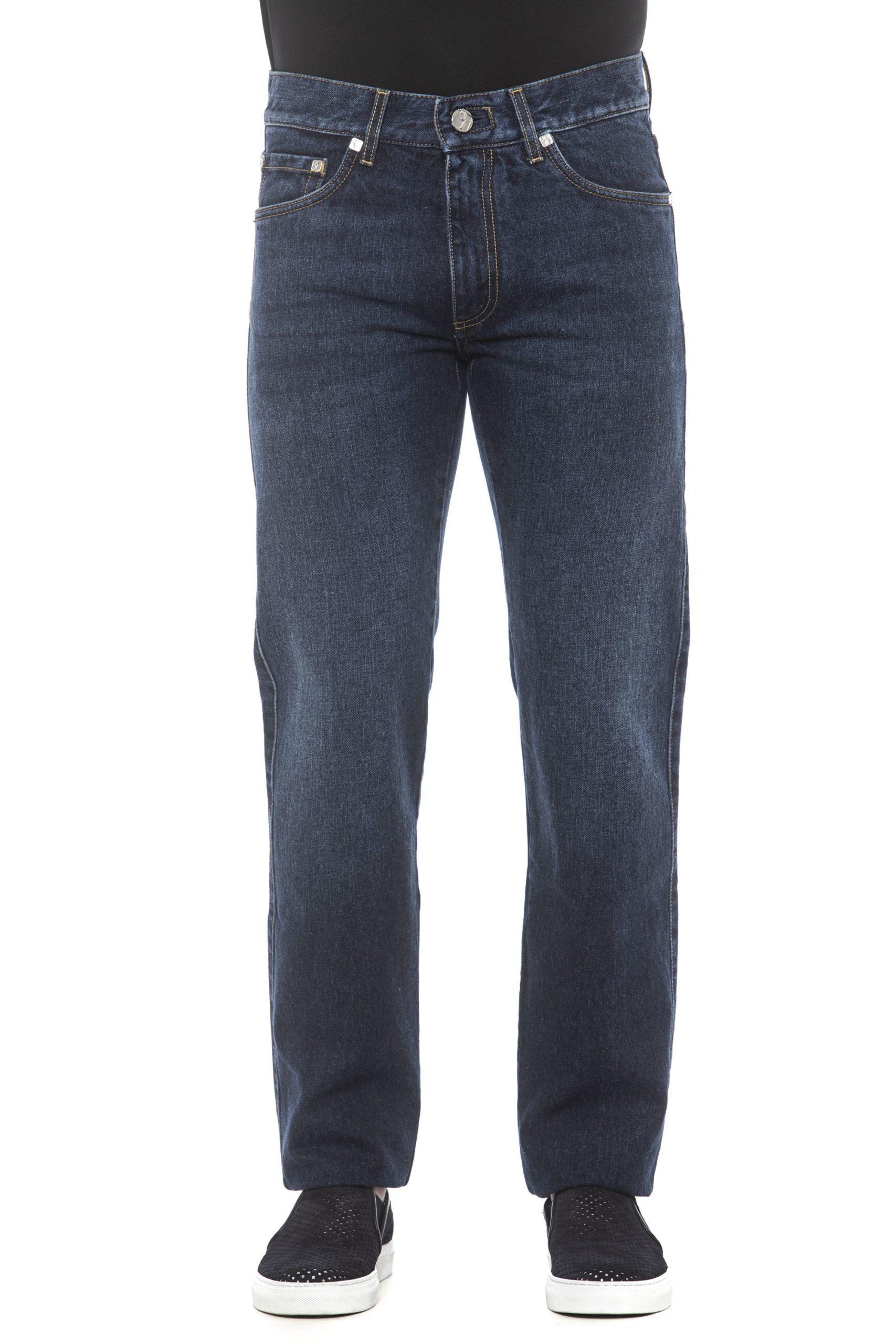 Billionaire Italian Couture Men's Jeans Blue BI1405221 - IT46   S