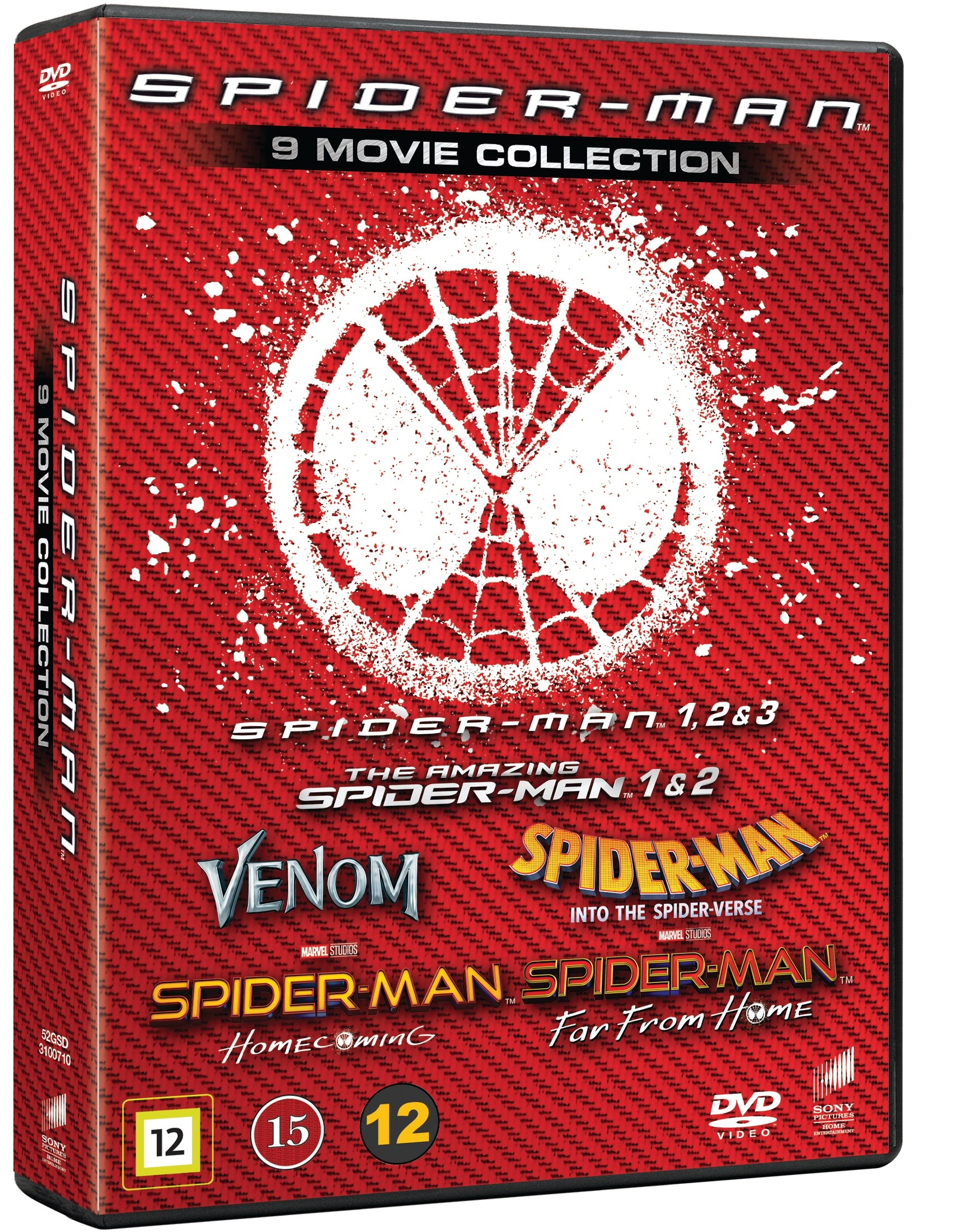 Spider-Man Complete 9-Disc Collection - Dvd