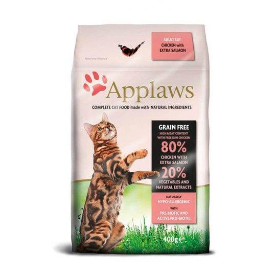 Applaws Cat Adult Grain Free Chicken & Salmon (400 g)