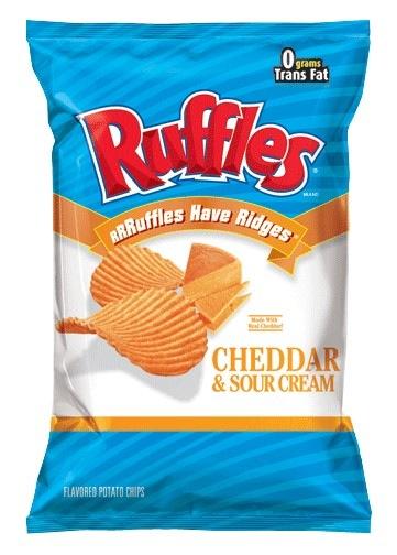 Ruffles Cheddar Cheese & Sour Cream Chips 184g