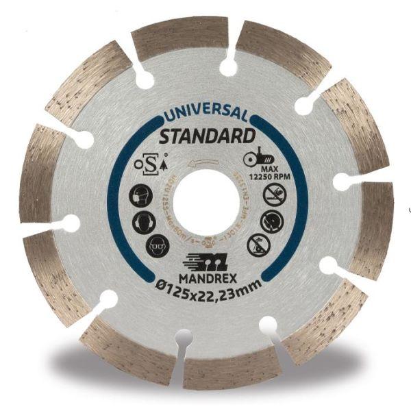 Mandrex Universal Standard Diamantkappskive 115 mm