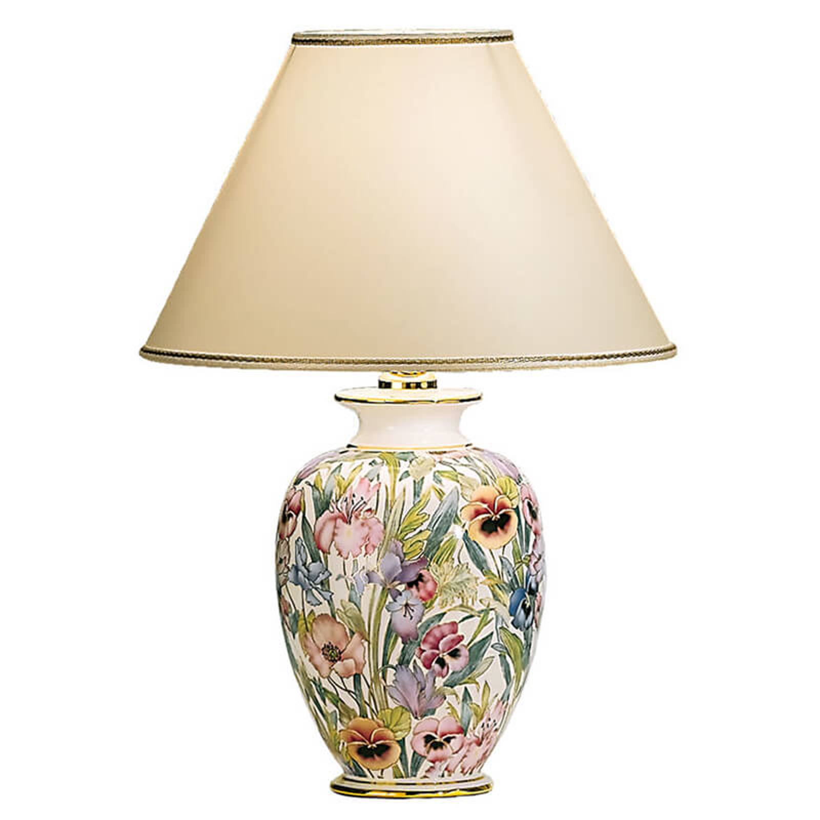KOLARZ Giardino Panse - floral bordlampe 30 cm