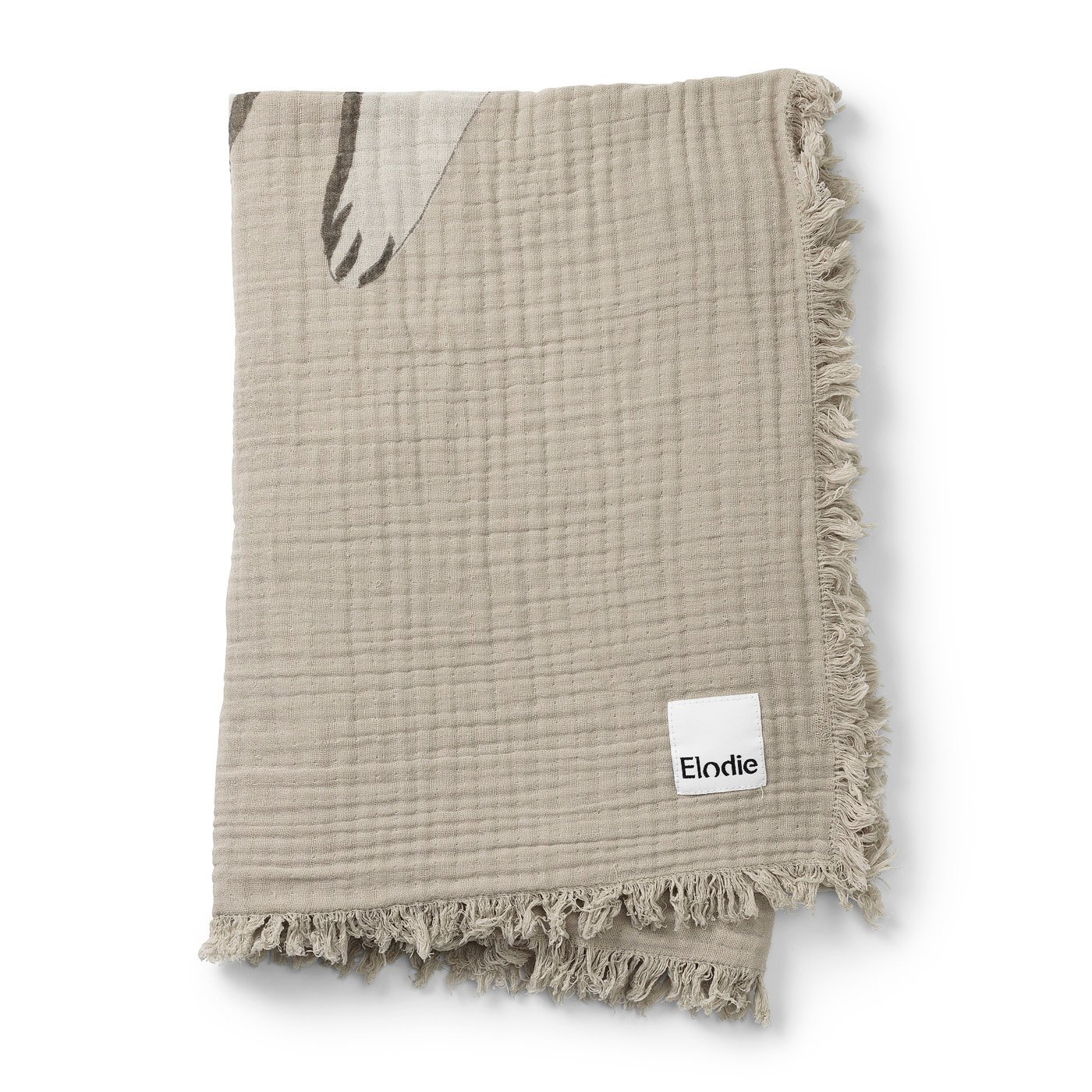 Elodie Details - Soft Cotton Blanket - Kindness Cat