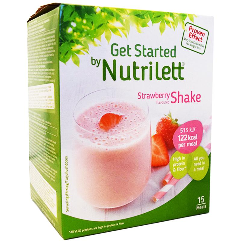 "Hel Låda Shakemix ""Strawberry"" 15 x 33g - 44% rabatt"