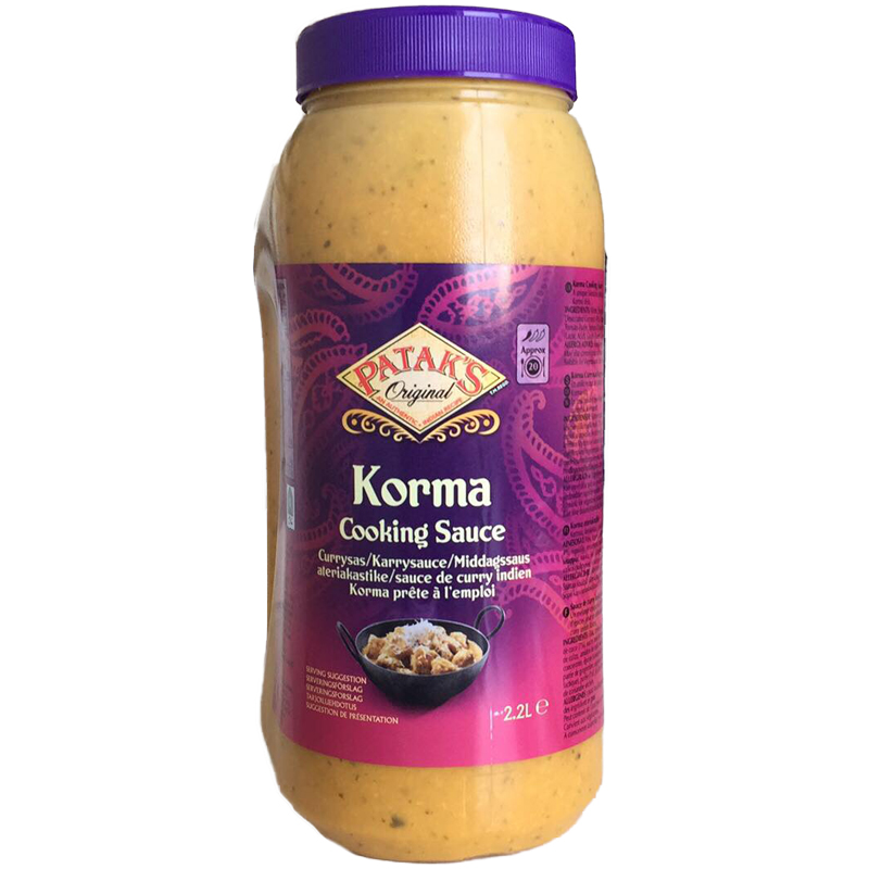 "Currysås ""Korma"" 2,2l - 40% rabatt"
