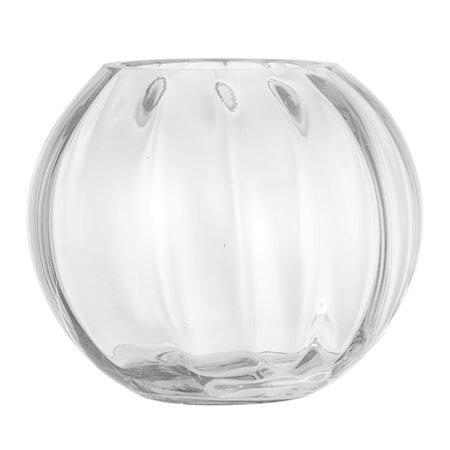Vase Clear Glass Ø18x15 cm