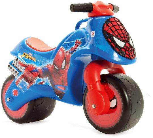 Spiderman Gåmotorsykkel, Blå/Rød