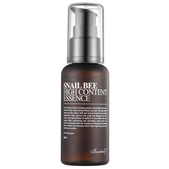 Snail Bee High Content Essence, 60 ml Benton Seerumit & öljyt