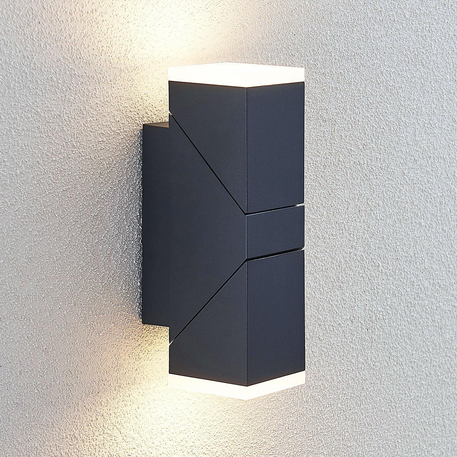 LED-ulkoseinävalaisin Sally, 2-lamppuinen