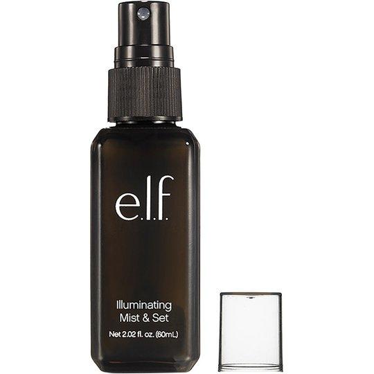 E.l.f Cosmetics Illuminating Mist & Set Clear, e.l.f. Meikinkiinnityssuihke