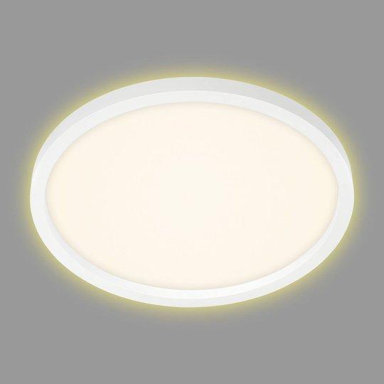 LED-taklampe 7363, Ø 42 cm hvit