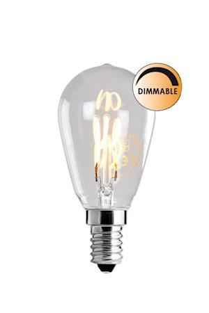 Lyskilde LED Soft Filament Dimbar Klar Uniterm E14