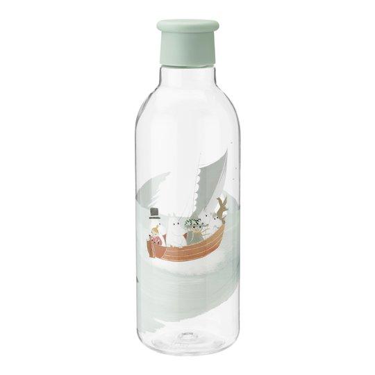 Rig-Tig - Mumin Drink-It Vattenflaska 75 cl Dusty Green