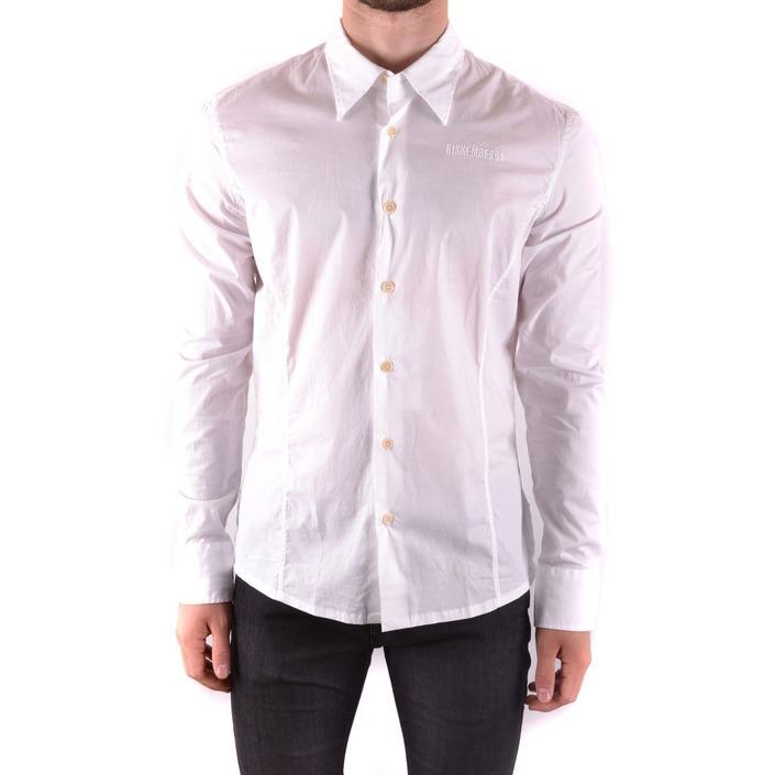 Bikkembergs Men's Shirt White 163208 - white L