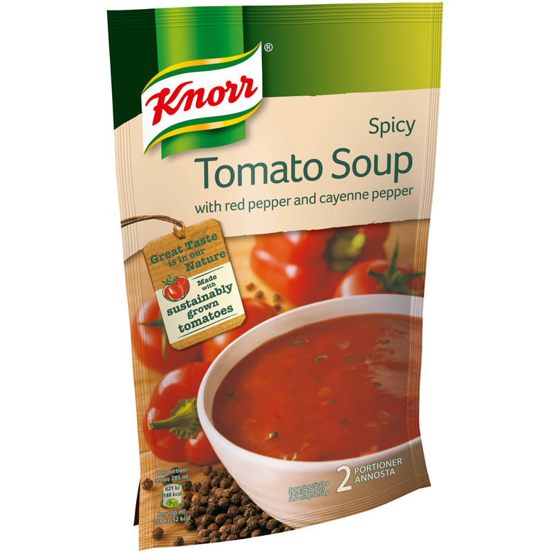 "Tomatsoppa ""Spicy"" 570ml - 27% rabatt"