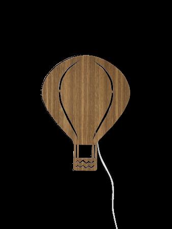 Air Balloon Lamp - Smoked Oak