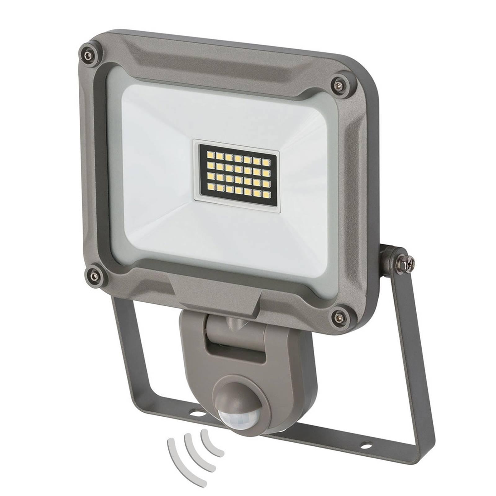 LED-ulkokohdevalaisin Jaro tunnistimella IP44 20W